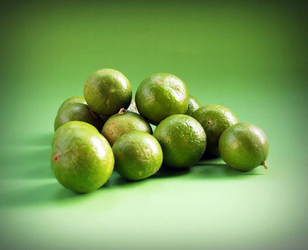 a pile of limes