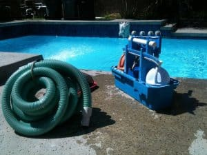 a pool cleaning kit