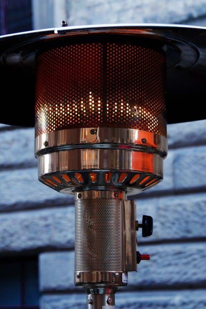 a free standing electric patio heater
