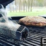 pellet tube smoker on a grill