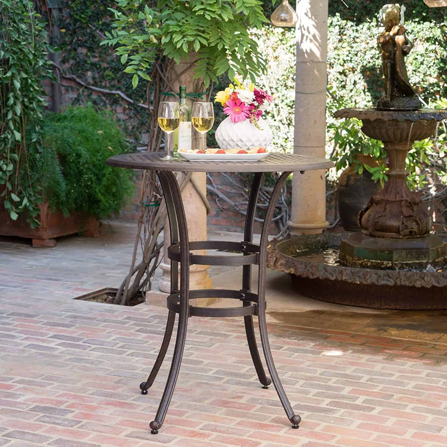 christopher knight home bar table