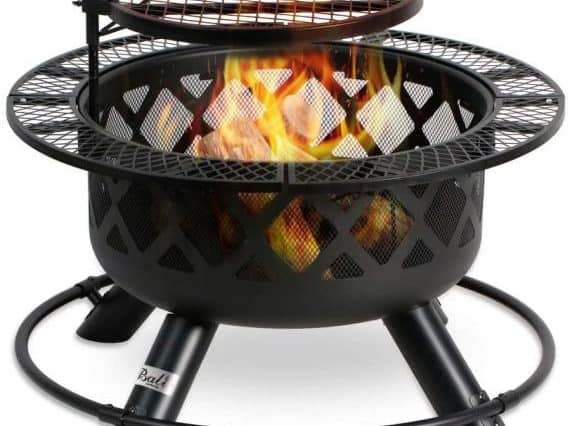 outdoor cooking pit