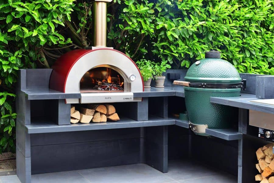 tabletop wood fired pizza oven
