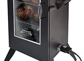 electric smoker indoors