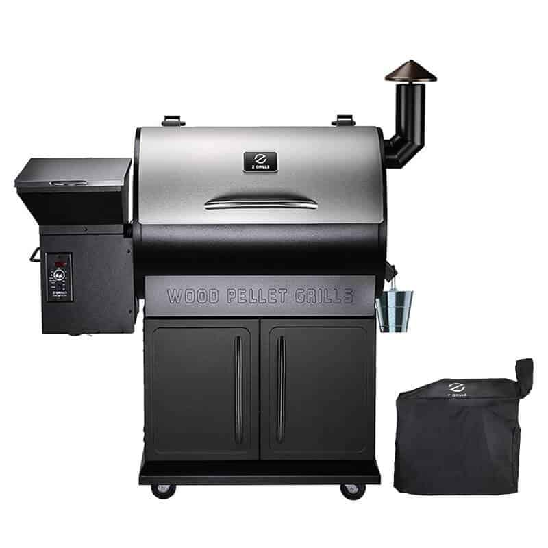 Z grills 700 series for smoking a raw ham