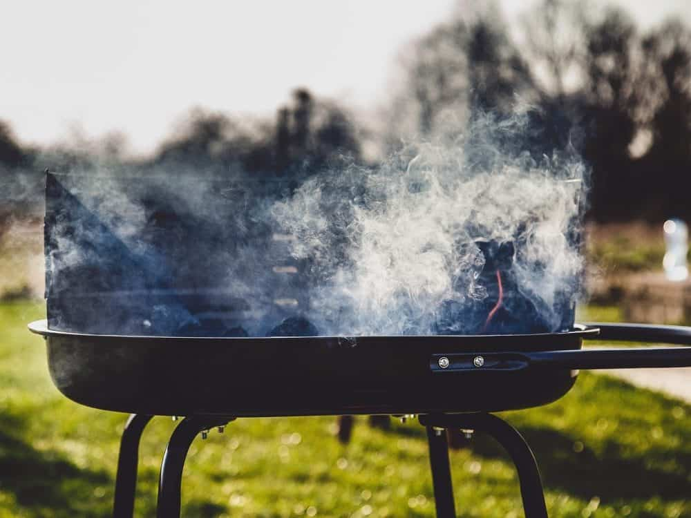 flat top grill smoke point from oil