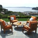types of wood outdoor furniture