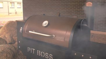 seasoning a pit boss pellet grill