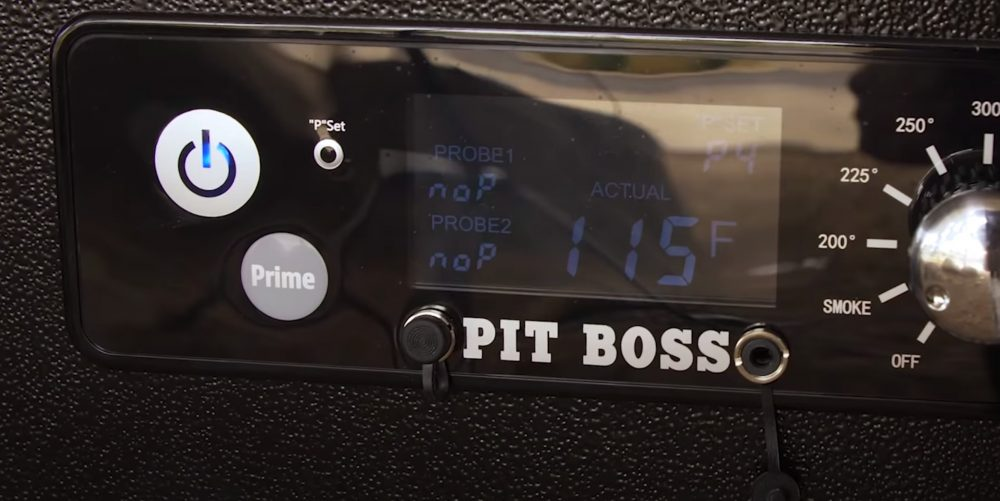 using the prime button when starting a pit boss pellet grill