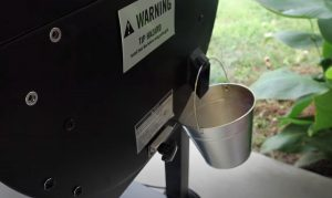grease bucket on camp chef pellet grill