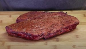 resting a smoked london broil