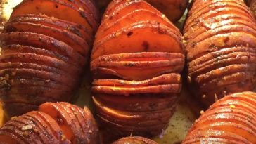 smoked sweet potatoes